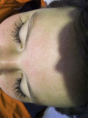 Gorgeous eyelashes by Skin Plus Beauty Bunbury