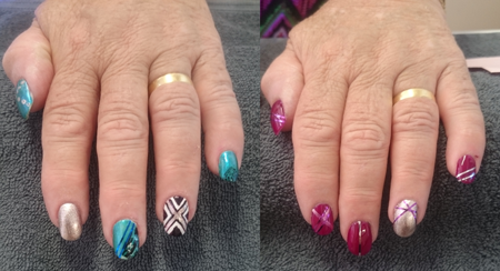 Nail Art by Skin Plus Beauty. Manicure Bunbury